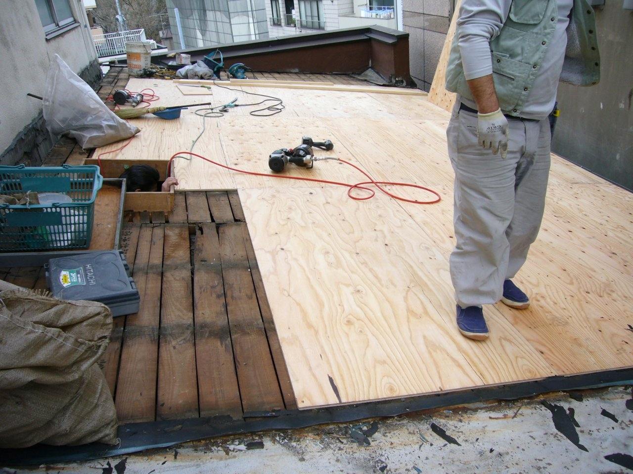 屋根工事 3