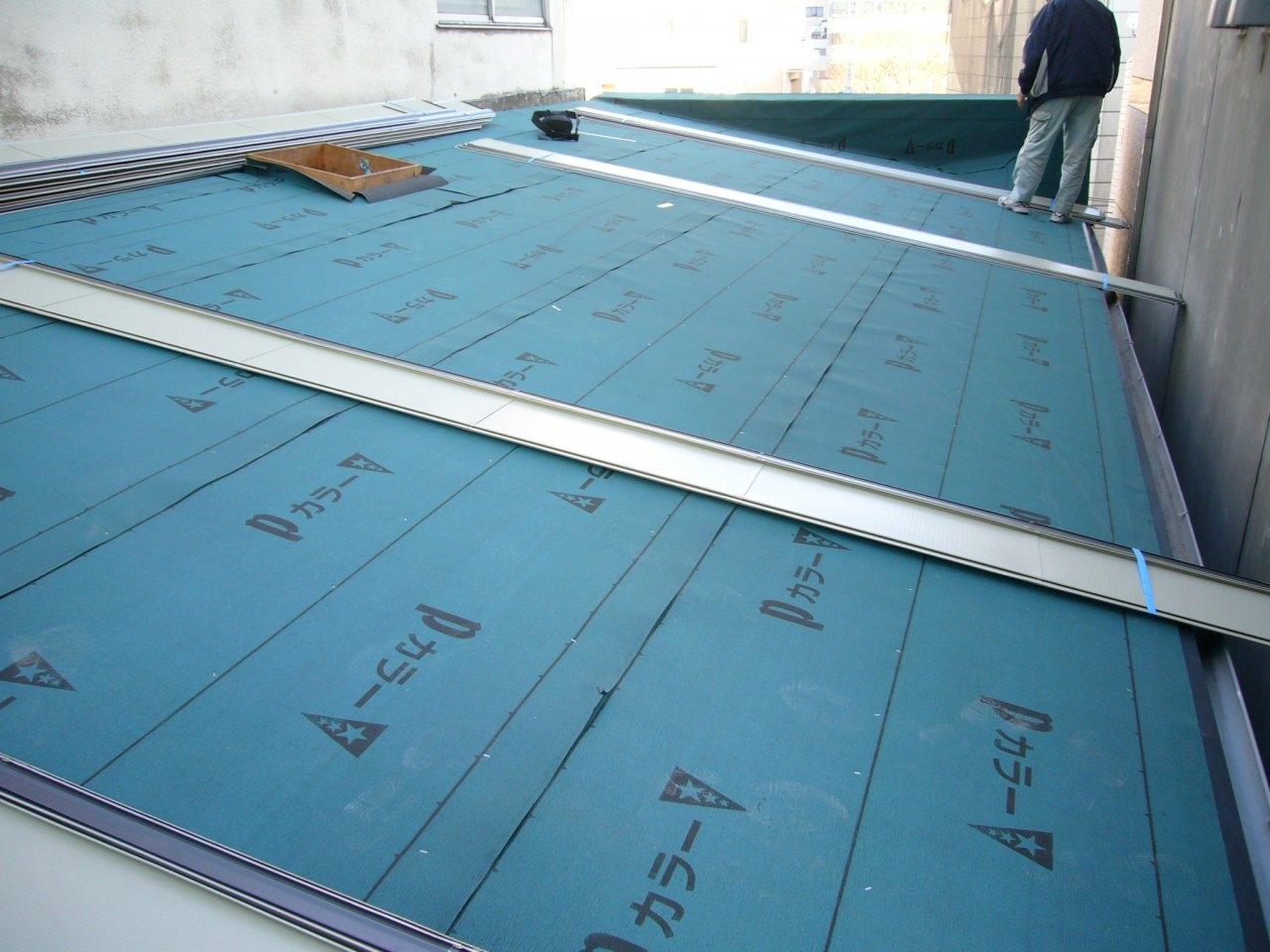 屋根工事 7
