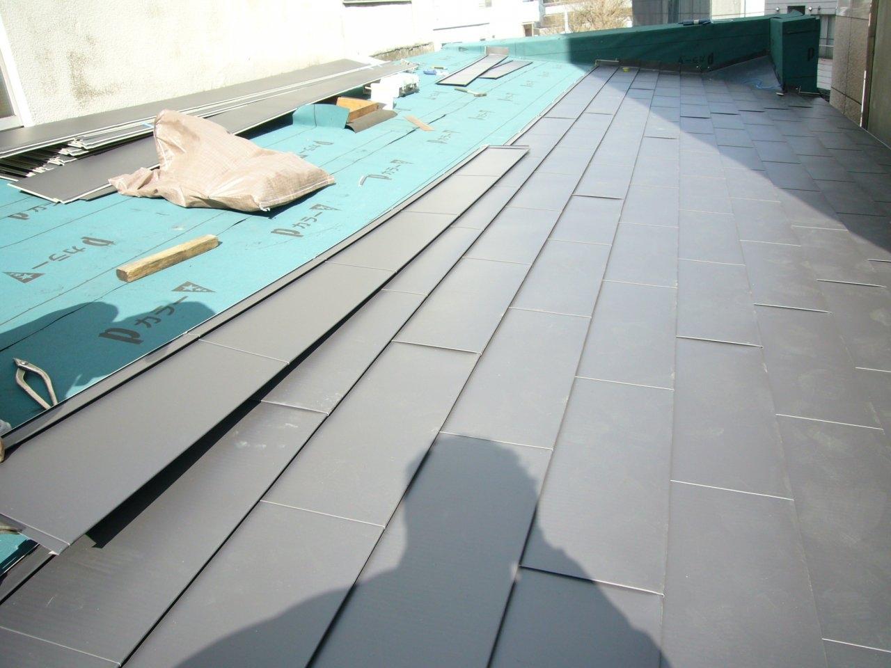屋根工事 8