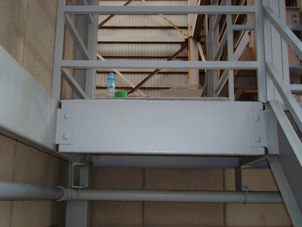鉄部塗装8 外階段
