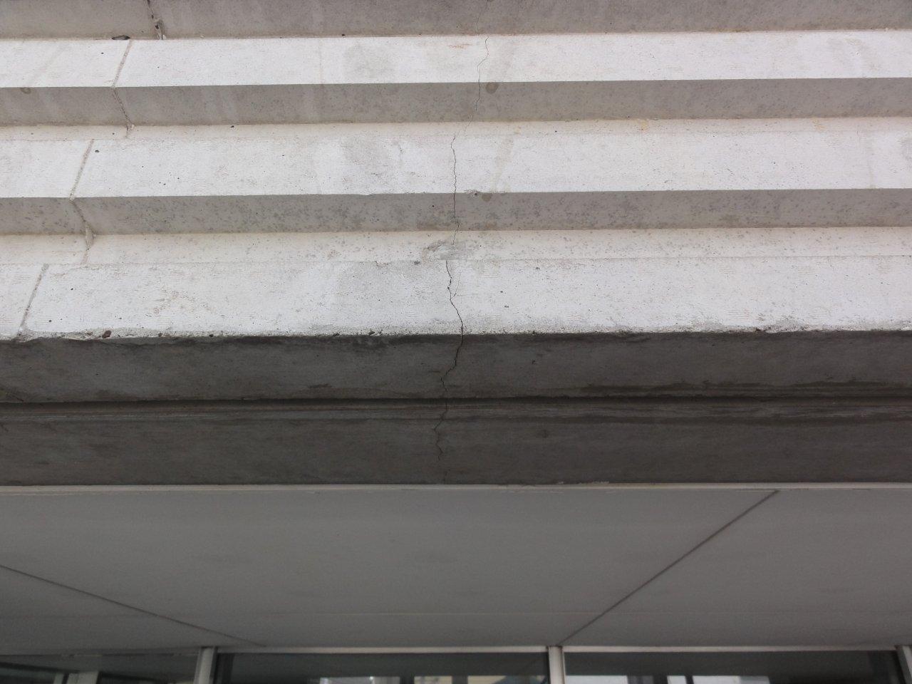 コンクリート補修1 クラック(ひび割れ)